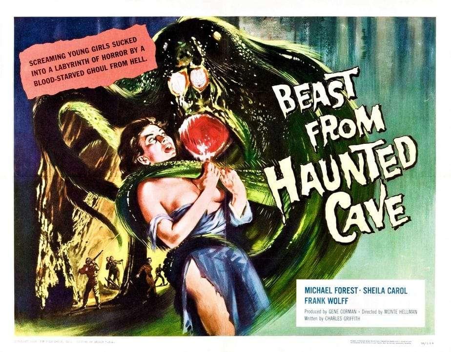 #Dossiermontehellman: Los Primeros Años. Beast From Haunted Cave & The Terror