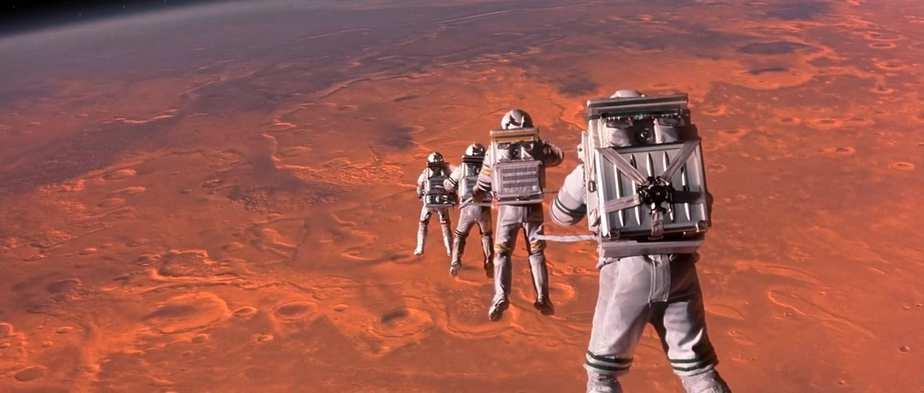 Mission To Mars Brian De Palma 2000