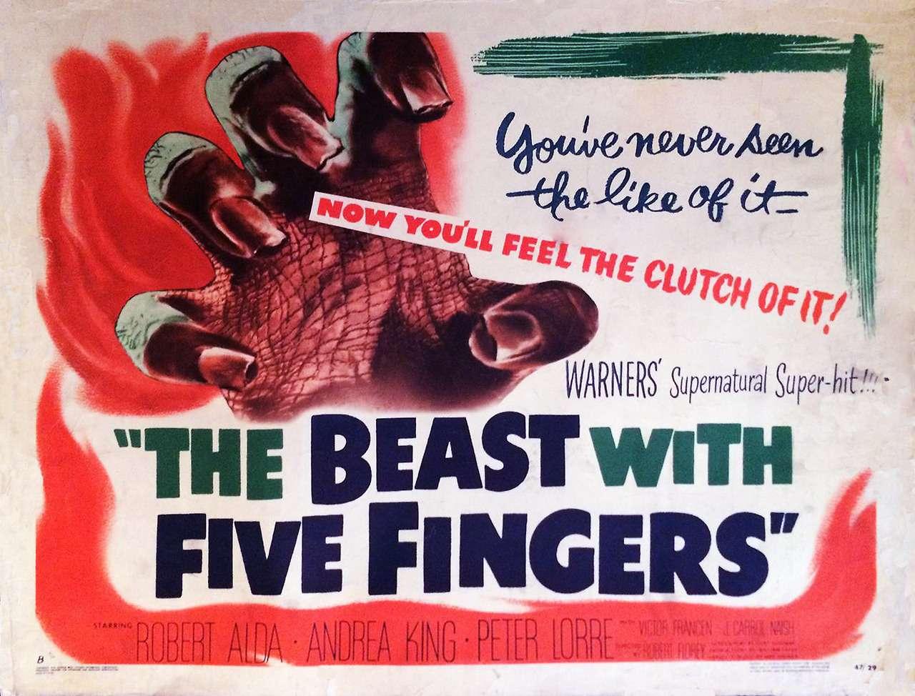 The Beast With Five Fingers (Robert Florey, 1946)