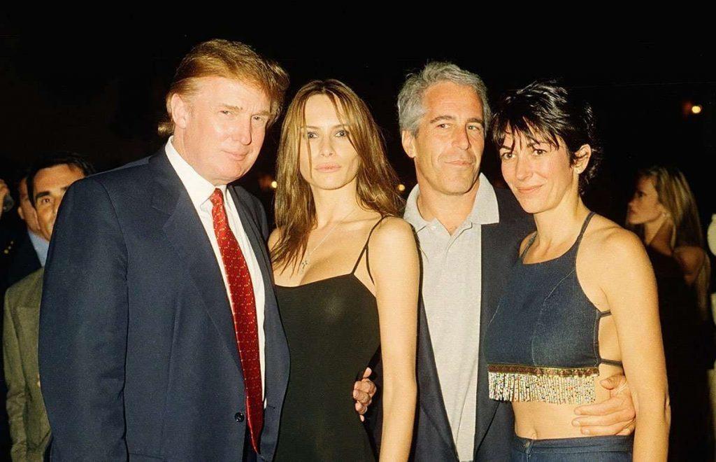 Donald Trump Jeffrey Epstein 1