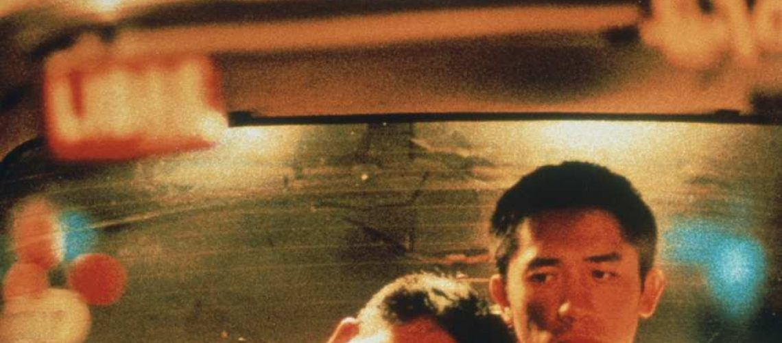 No Merchandising. Editorial Use Only. No Book Cover Usage. Mandatory Credit: Photo by Kobal/REX/Shutterstock (5867685c) Tony Leung, Leslie Cheung Happy Together - 1997 Director: Wong Kar-Wai Block 2 Pics HONG KONG Scene Still Foreign