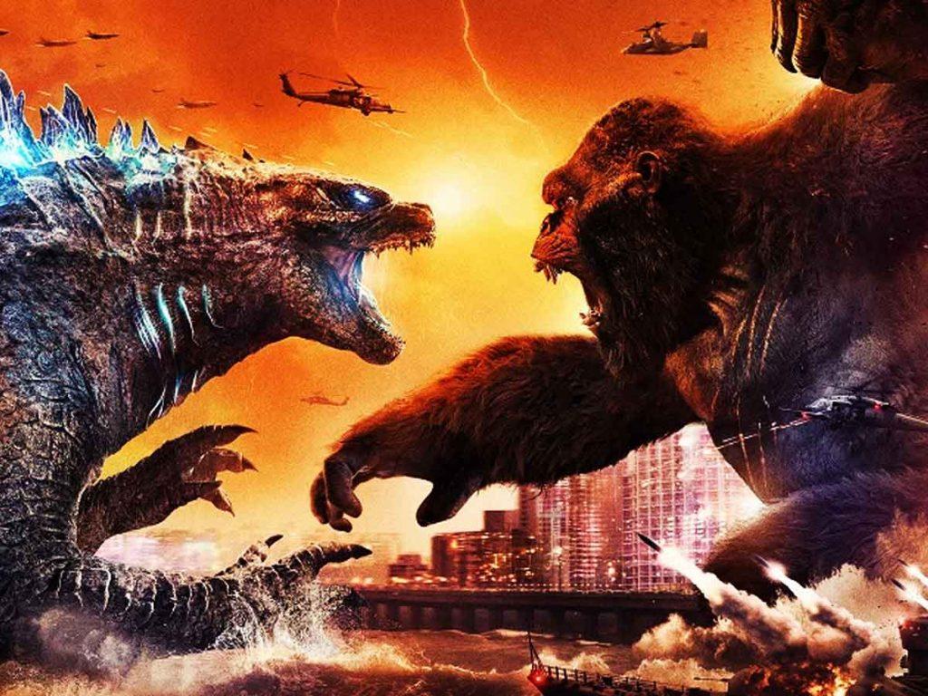 Godzilla Vs Kong Vs Mechagodzilla