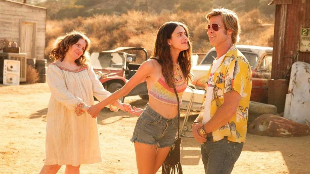 Once Upon Hollywood Pitt Qualley