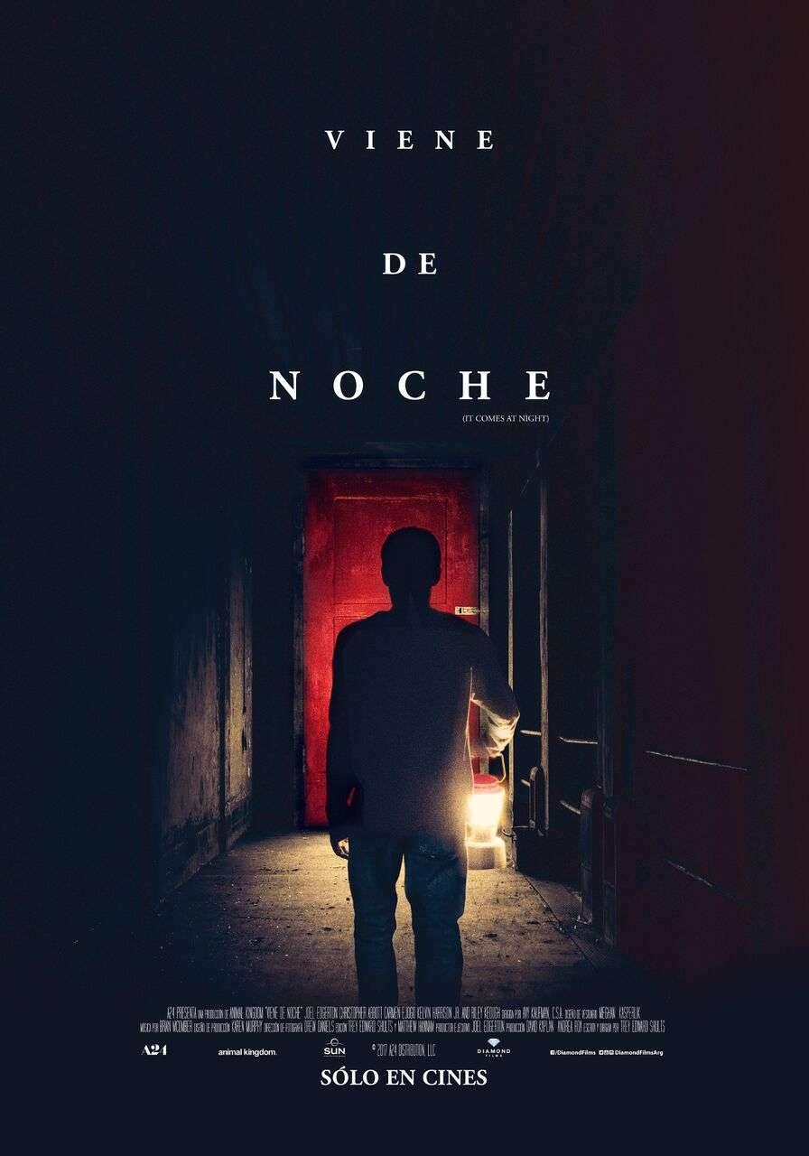 Poster Final Viene De Noche